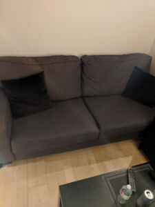 Gray couch / sofa