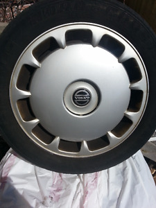 Volvo rims, tires, wheel discs