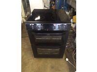 Belling black halogen top cooker 600 mm