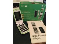 Doro phone with £26.65 credit on EE