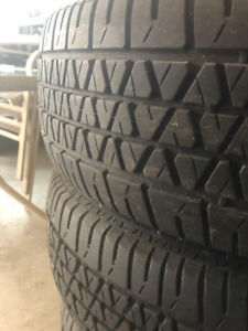 Used All-Season Tires with Steel Rims (P195/70/R14)
