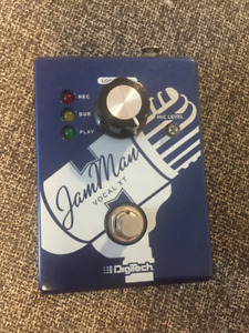 DigiTech Jam Man XT Vocal Looping Pedal