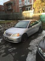 2002 Honda civic 2 portes