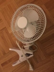 Small fan with clip