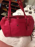 Authentic brand new coach purse pink