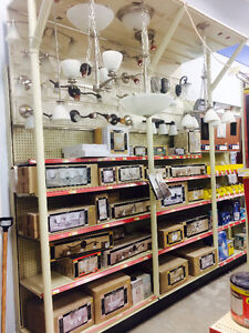 50% OFF ALL IN STOCK LIGHTING