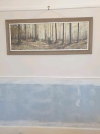 Stag wall art print