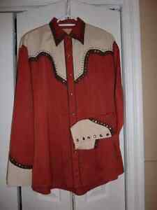Men's Retro Western Dress Shirts Peterborough Peterborough Area image 1