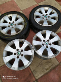 Alloys wheels 16 inch with tyre