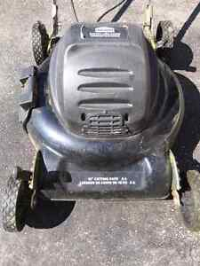 Lawn mower tondeuse electric