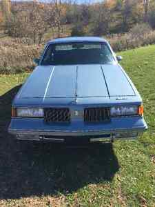 **1987 CUTLASS SUPREME**