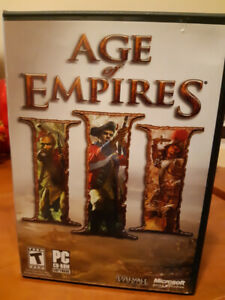 Age of Empires 3 III  - PC  game - Complete in Box - $10