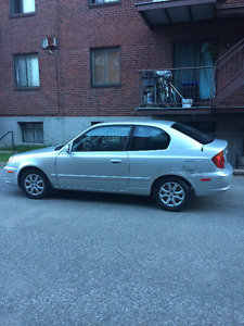 2004 Hyundai Accent Coupe (2 door) Automatic (90,500km)