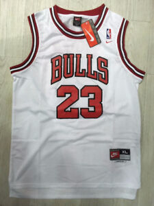 MICHAEL JORDAN - CHICAGO BULLS Hand Signed White Jersey