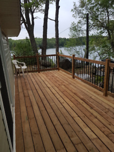 Cottage for Rent on beautiful Crow Lake.