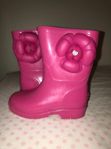Toddler girl rain boots