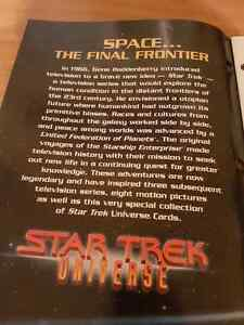 Star trek universe 1997 large format cards collection