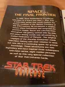 Star trek universe 1997 large format cards collection Kitchener / Waterloo Kitchener Area image 1