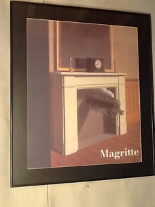 Surreal Rene Magritte Time Transfixed