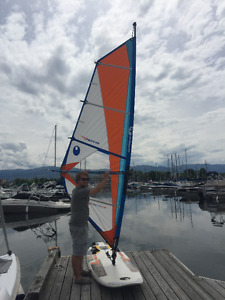 Lightly Used Windsurfing Board and Rig