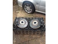Volkswagen Golf Mk7 2012 R-Line 345mm Disks and Calipers