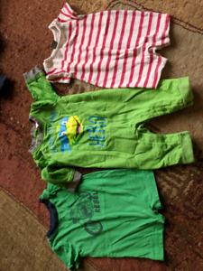 3-6 month one pieces