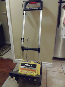 "AS NEW 14"" Electric NOMA Sno-thrower! No Shovel! Effortless!"