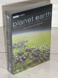 PLANET EARTH - THE COMPLETE SERIES, BBC VIDEO, 5 DISC SET, DVD
