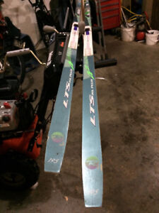 Rossignol 195 LTS xl Plus Touring Skis and bindings