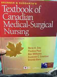 Textbook of Canadian Medical-Surgical Nursing Second Edition Edmonton Edmonton Area image 1