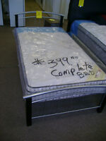 Complete new single bed. $399.