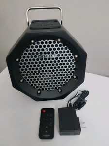 Yamaha Speaker PDX-11, w/  adapter and remote. New. Never used.
