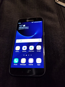 SAMSUNG GALAXY S7 BLACK 32GB ROGERS