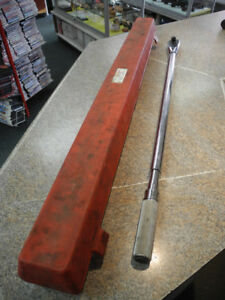 """Snap-On 3/4"""" Adjustable Click-Type Fixed Ratchet Torque Wrench"""