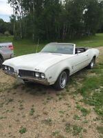 1969 olds cutlass to be restored
