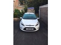 Ford Fiesta 1.25 61 plate
