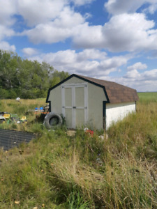 10x16 storage shed for sale like new 1200