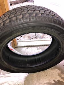 pneus hiver winter tires 245 60 r20 yokohama geolander