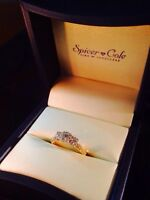 Spicer Cole new engagement diamond ring
