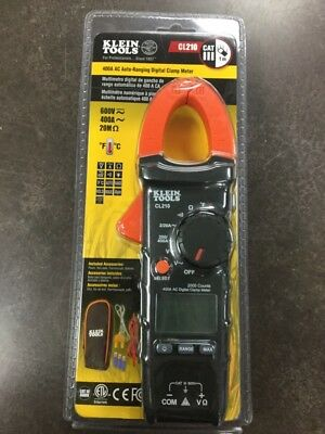 Klein Tools 400a Ac Auto Ranging Digital Clamp Meter Lam018236
