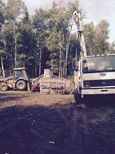 Digger Derrick and Backhoe Services. Tonka Contracting LTD Strathcona County Edmonton Area image 8