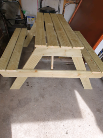 Outdoor Pub/Garden Benches - Made from Pressure Treated Decking
