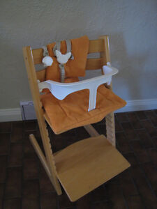 Stokke Tripp Trapp Chair with accessories