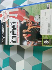 PS2 game soccer lufe