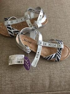 New with tags Justice sandals size 3