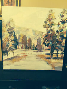 oil painting wall hanging