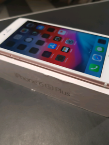 Iphone 6s Plus with box and charger- Unlocked