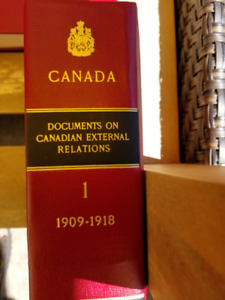 26 volumes of the Canadian External Affairs Documents