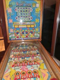 Ballybingo.. Bally Bingo Electro Mechanical Pinball Machines
