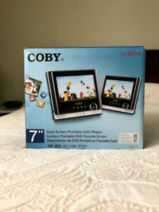 Coby Dual Portable DVD Player